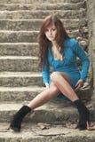 mody target1068_0_ kobiety potomstwa fotografia stock