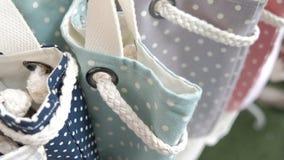 Mody tkaniny dużego ciężaru torby obrazy stock