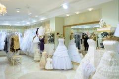 mody wewnętrzny sklepu ślub Fotografia Royalty Free