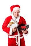 Młody Święty Mikołaj Fotografia Stock