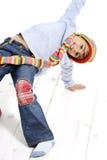 mody zabawy dzieciaki Obraz Royalty Free