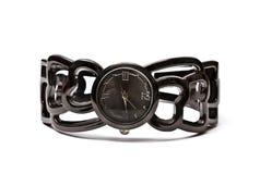 mody zegarka kobiety nadgarstek Obrazy Royalty Free