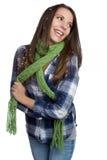 mody zima kobieta Obrazy Stock