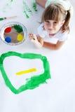 młodych artystów. Zdjęcie Stock
