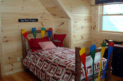 młodzi chłopcy sypialni Zdjęcie Stock