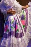 Młodzi tancerze od Kolumbia w tradycyjnym kostiumu Fotografia Royalty Free