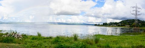 Moe Byel Dam, Shan State, Myanmar Lizenzfreie Stockbilder