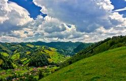 Moeciu,罗马尼亚 免版税库存照片