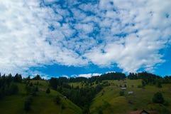 Moeciu de Sus, Brasov, Румыния Стоковые Изображения RF