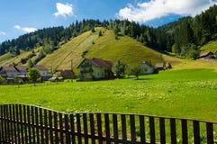 Moeciu de Sus, Brasov, Румыния Стоковые Фотографии RF
