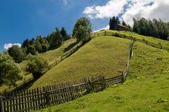 Moeciu de Sus, Brasov, Румыния Стоковая Фотография RF