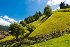 Moeciu de Sus, Brasov, Румыния Стоковое Изображение RF