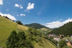 Moeciu de Sus, Brasov, Румыния Стоковое Изображение