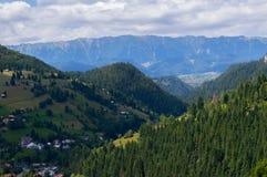 Moeciu de Sus, Brasov, Румыния Стоковое Фото