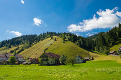 Moeciu de Sus, Brasov, Romania Royalty Free Stock Photography