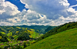 Moeciu, Roumanie Photo libre de droits