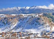 Village in Romania stock photography