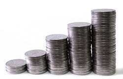 moeda Imagem de Stock Royalty Free