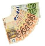 Moeda Barato-Dinheiro-Euro-europeia Imagens de Stock Royalty Free