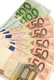 Moeda Barato-Dinheiro-Euro-europeia Imagens de Stock