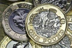 Moeda britânica 2017 Imagem de Stock