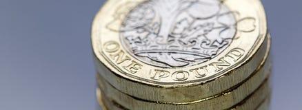 Moeda britânica 2017 Imagens de Stock