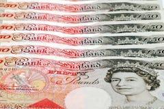 Moeda britânica Foto de Stock Royalty Free