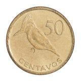 Moeda 50 centavos Imagem de Stock Royalty Free