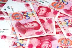 Moeda de China Foto de Stock