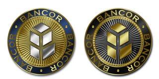 Moeda de Cryptocurrency BANCOR Ilustração Stock