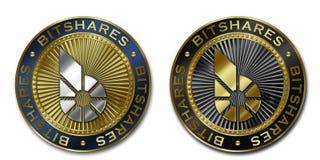 Moeda de Cryptocurrency BITSHARES Ilustração Stock