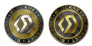 Moeda de Cryptocurrency BLOCKNET Ilustração Stock