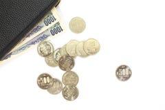 moeda de 500 ienes Foto de Stock Royalty Free
