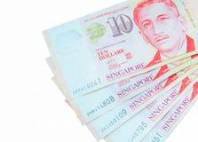 Moeda de Singapura do dólar Foto de Stock Royalty Free