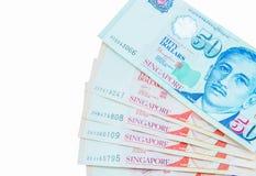 Moeda de Singapura do dólar Fotografia de Stock Royalty Free