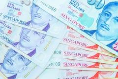 Moeda de Singapura do dólar Fotografia de Stock