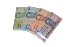 Moeda do baht tailandês Imagens de Stock