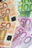 Moeda do Euro Foto de Stock Royalty Free
