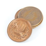 Moeda do iene japonês Foto de Stock Royalty Free