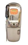 Moeda do telefone público em Tailândia Fotografia de Stock