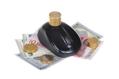 Moeda e negócio Imagens de Stock Royalty Free