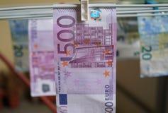 Moeda européia Imagens de Stock Royalty Free