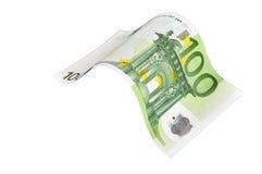 Moeda européia. Uma nota. #036 Foto de Stock Royalty Free