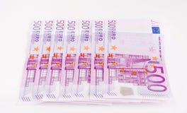 Moeda europeia, euro- Imagem de Stock