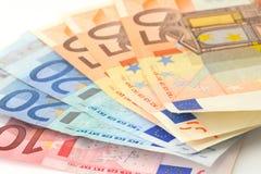 Moeda européia Foto de Stock Royalty Free