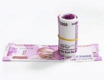 Moeda indiana nova Imagem de Stock Royalty Free