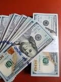 Moeda nacional do mundo do dinheiro dos E.U. fotos de stock