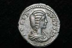 Moeda romana fotografia de stock royalty free