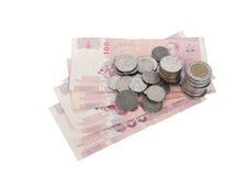 Moeda tailandesa Foto de Stock Royalty Free