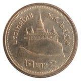 Moeda tailandesa do baht Imagem de Stock